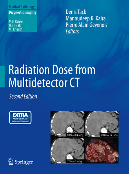 Radiation Dose from Multidetector CT - Coverbild