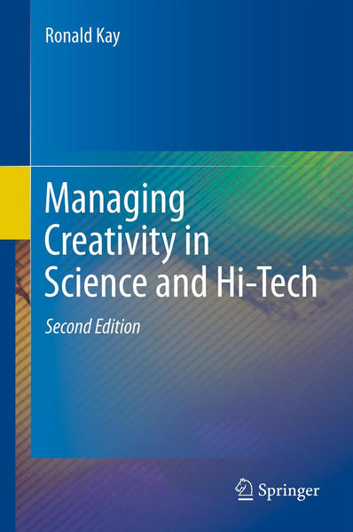 Managing Creativity in Science and Hi-Tech - Coverbild
