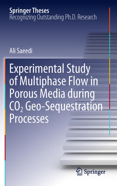 Experimental Study of Multiphase Flow in Porous Media during CO2 Geo-Sequestration Processes - Coverbild
