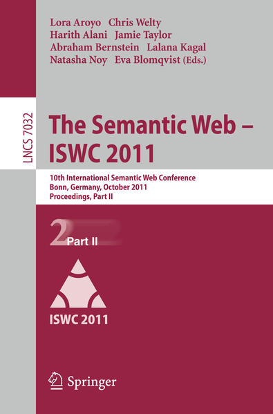 The Semantic Web -- ISWC 2011 - Coverbild
