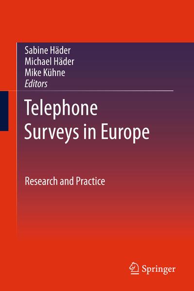 Kostenloser Download Telephone Surveys in Europe PDF