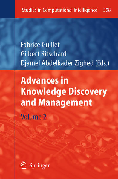 Advances in Knowledge Discovery and Management - Coverbild