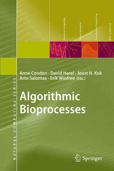 Algorithmic Bioprocesses - Coverbild