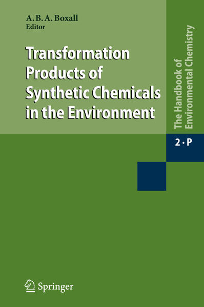 Transformation Products of Synthetic Chemicals in the Environment - Coverbild