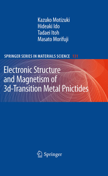 Electronic Structure and Magnetism of 3d-Transition Metal Pnictides - Coverbild