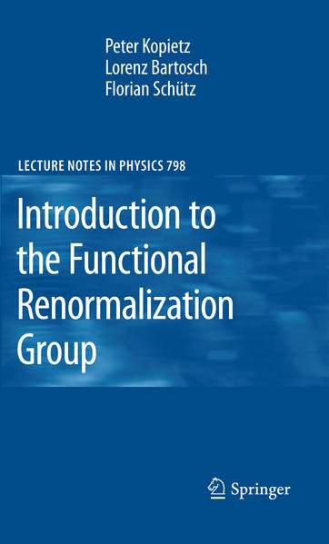 Introduction to the Functional Renormalization Group - Coverbild