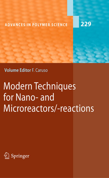 Modern Techniques for Nano- and Microreactors/-reactions - Coverbild