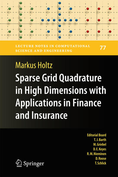 Sparse Grid Quadrature in High Dimensions with Applications in Finance and Insurance - Coverbild