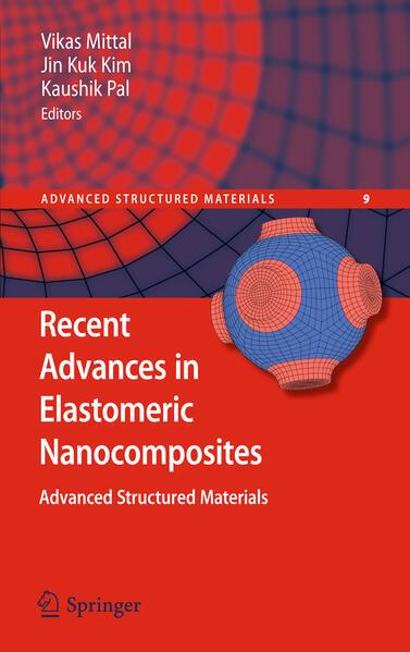 Recent Advances in Elastomeric Nanocomposites - Coverbild