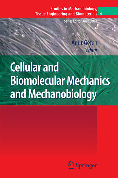 Cellular and Biomolecular Mechanics and Mechanobiology - Coverbild