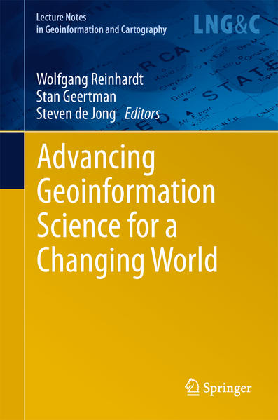 Advancing Geoinformation Science for a Changing World - Coverbild