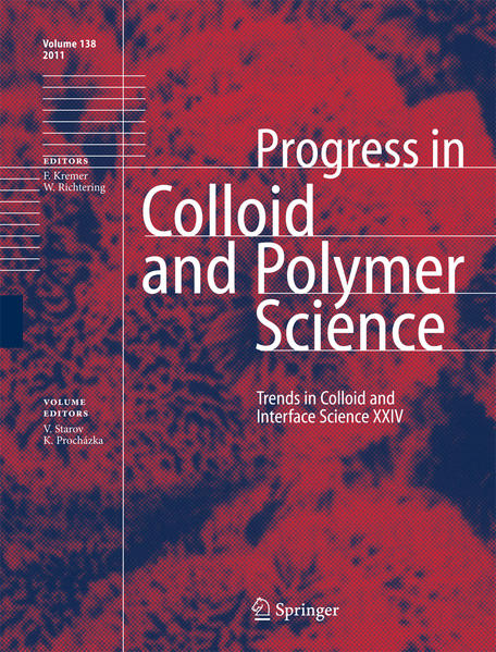 Trends in Colloid and Interface Science XXIV - Coverbild