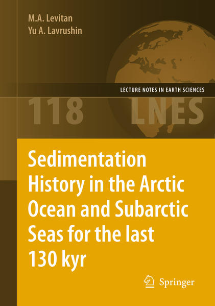 Sedimentation History in the Arctic Ocean and Subarctic Seas for the Last 130 kyr - Coverbild