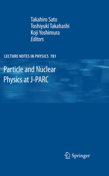 Particle and Nuclear Physics at J-PARC - Coverbild