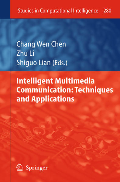 Intelligent Multimedia Communication: Techniques and Applications - Coverbild