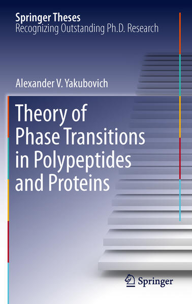 Theory of Phase Transitions in Polypeptides and Proteins - Coverbild