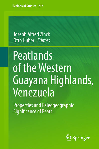 Peatlands of the Western Guayana Highlands, Venezuela - Coverbild