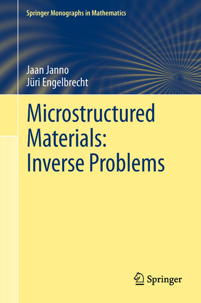 Microstructured Materials: Inverse Problems - Coverbild