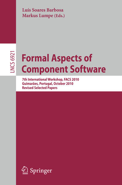 Formal Aspects of Component Software - Coverbild