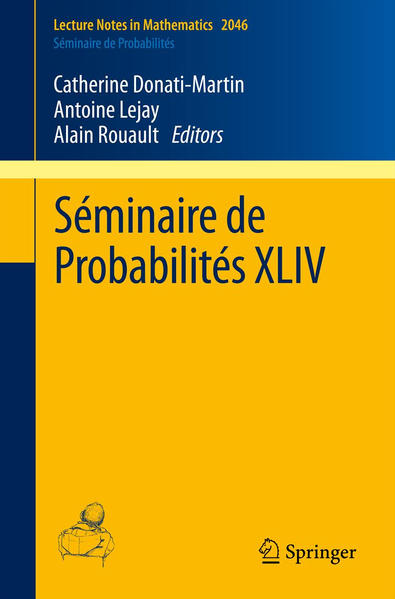 Séminaire de Probabilités XLIV - Coverbild