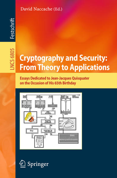 Cryptography and Security: From Theory to Applications - Coverbild