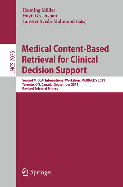 Medical Content-Based Retrieval for Clinical Decision Support - Coverbild