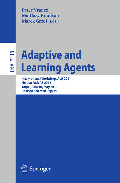 Adaptive and Learning Agents - Coverbild