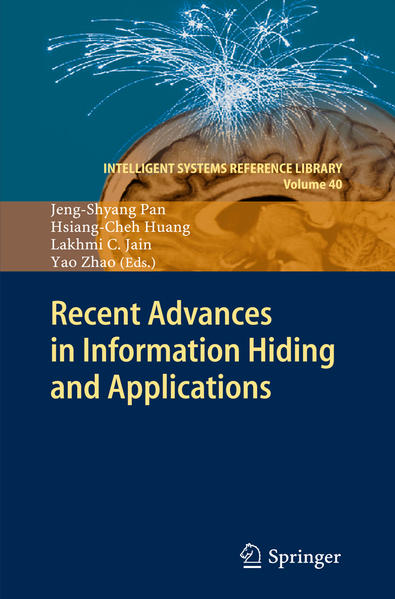 Recent Advances in Information Hiding and Applications - Coverbild