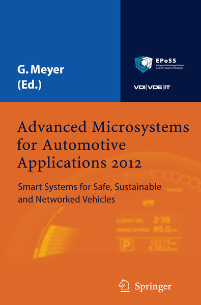 Advanced Microsystems for Automotive Applications 2012 - Coverbild