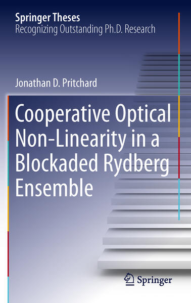 Cooperative Optical Non-Linearity in a Blockaded Rydberg Ensemble - Coverbild