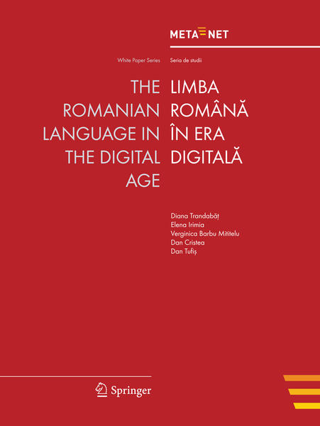 The Romanian Language in the Digital Age - Coverbild