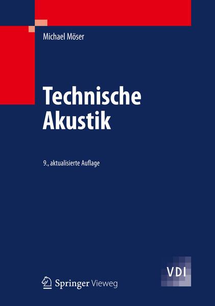 Technische Akustik - Coverbild
