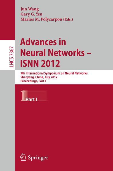 Advances in Neural Networks – ISNN 2012 - Coverbild