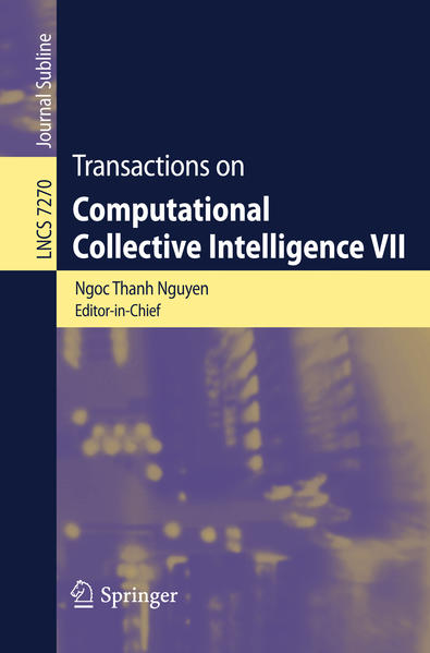 Transactions on Computational Collective Intelligence VII - Coverbild