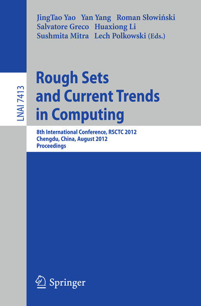 Rough Sets and Current Trends in Computing - Coverbild