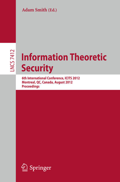 Information Theoretic Security - Coverbild