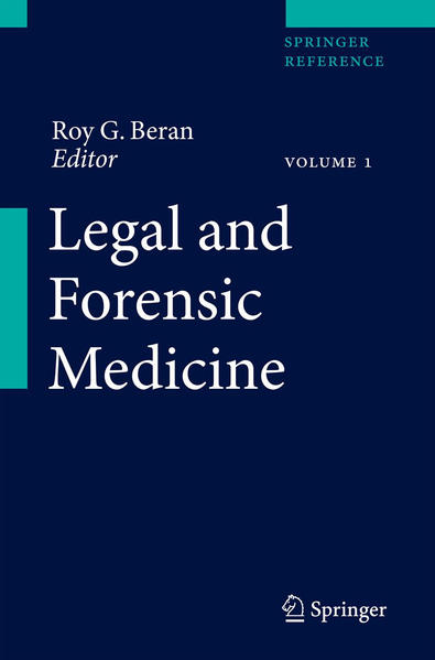 Legal and Forensic Medicine - Coverbild