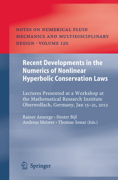 Recent Developments in the Numerics of Nonlinear Hyperbolic Conservation Laws - Coverbild