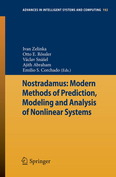 Nostradamus: Modern Methods of Prediction, Modeling and Analysis of Nonlinear Systems - Coverbild