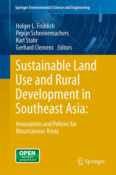 Sustainable Land Use and Rural Development in Southeast Asia: Innovations and Policies for Mountainous Areas - Coverbild