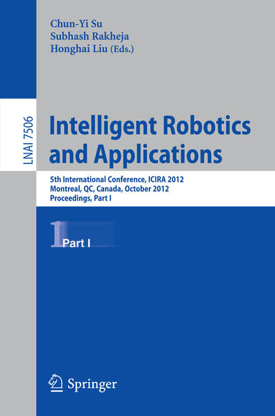 Intelligent Robotics and Applications - Coverbild