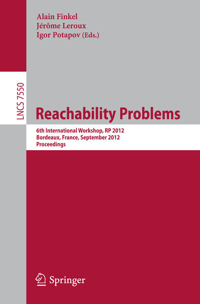 Reachability Problems - Coverbild