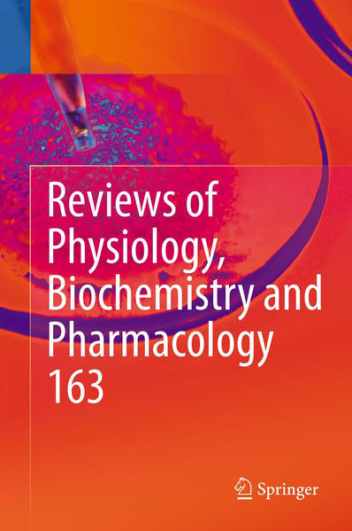Reviews of Physiology, Biochemistry and Pharmacology, Vol. 163 - Coverbild