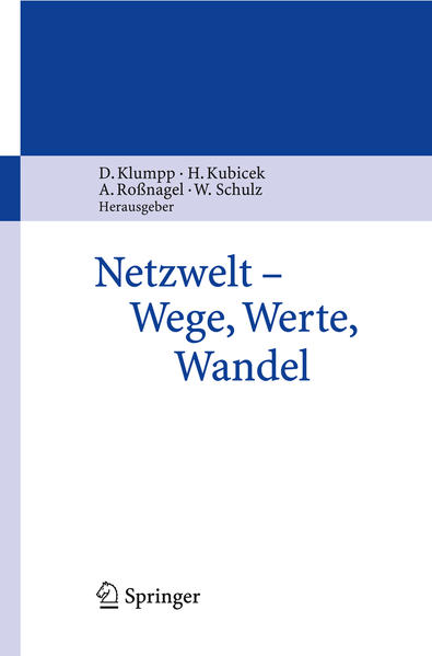 Netzwelt - Wege, Werte, Wandel - Coverbild