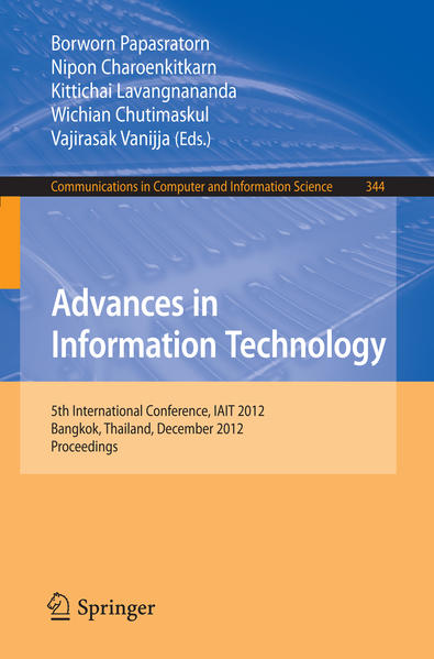 Advances in Information Technology - Coverbild