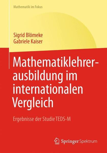 Mathematiklehrerausbildung im internationalen Vergleich - Coverbild