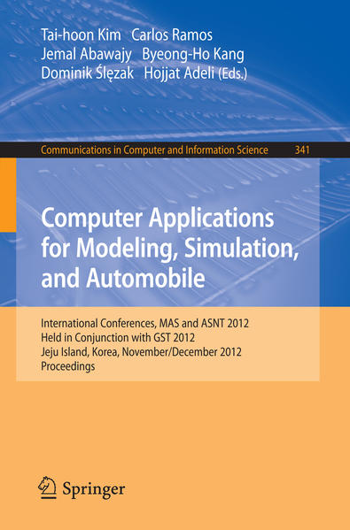 Computer Applications for Modeling, Simulation, and Automobile - Coverbild