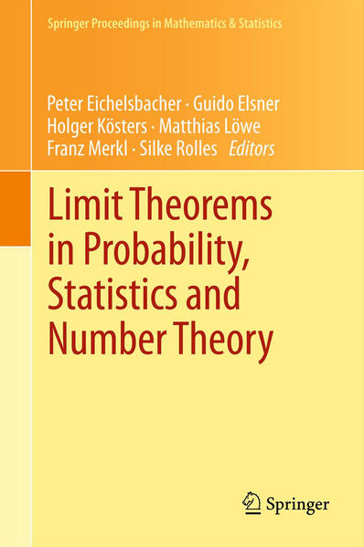 Limit Theorems in Probability, Statistics and Number Theory - Coverbild