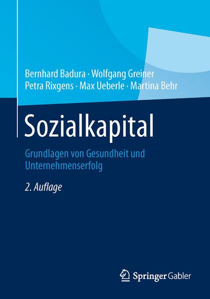 Sozialkapital - Coverbild