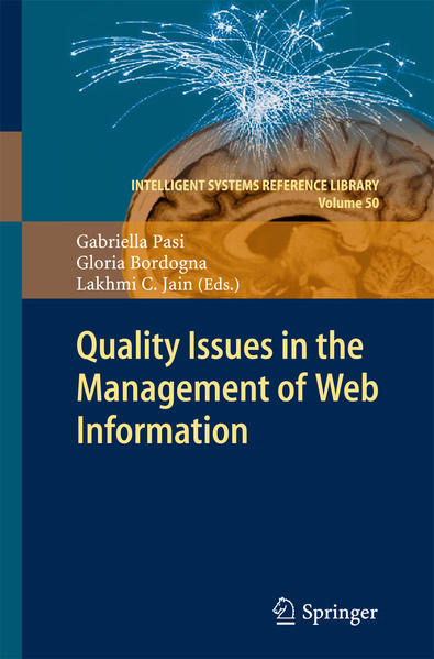Quality Issues in the Management of Web Information - Coverbild